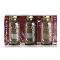 Kilner Set of 3 1 Litre Preserve Jars